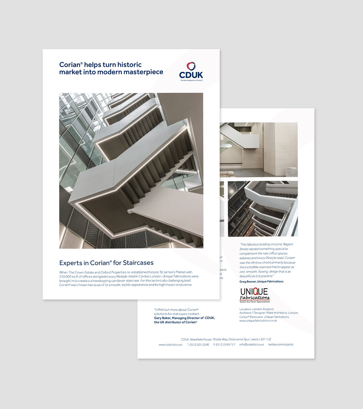 Experts in luxury interior marketing  Agency Forty quickly helped CDUK  produce brand guidelines  brand architecture and segmented customer  personas Cast Study marketing and website agency for Corian UK distributor  . Office Design Guidelines Uk. Home Design Ideas